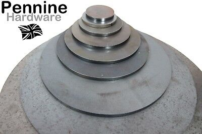 6.0mm Thick Disc ROUND Circle CR3 MILD STEEL Sheet Plate 25 - 500 mm Ø UK Made