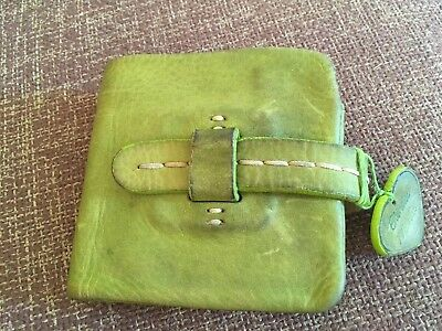Blondie Mania  ladies purse / wallet real leather Wallet In Light Green