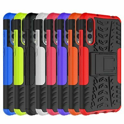 Heavy Duty Shock proof Builder Gorilla Case Cover For HUAWEI Y6 P Smart P20 Pro
