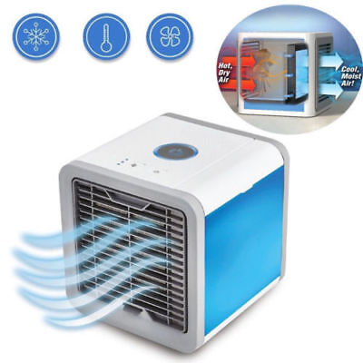 Air Conditioner Portable Fan Personal Mini Air Cooler Humidifier Travel Office