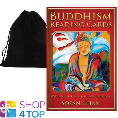 Buddhism Reading Cards Deck Sofan Chan Esoteric Us Games Systems With Velvet Bag