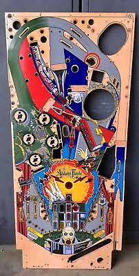 Addams Family pinball machine used playfield
