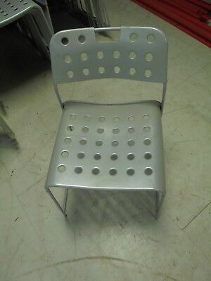 76 metal chairs