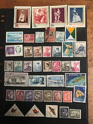 stamps Romania - Used - Lot 564