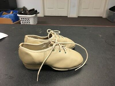 Revolution Tan Leather Tap Shoes Unisex Toddler Size 13 M