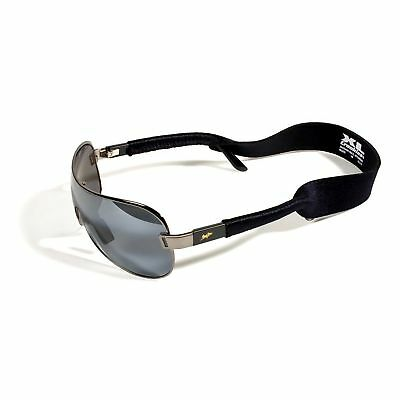 Croakies XL Eyewear Retainer Black Sunglasses Strap Fits Large Frames Washable