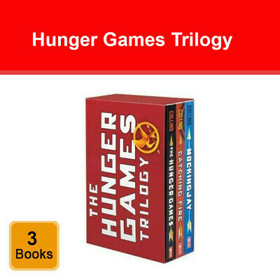 The Hunger Games Trilogy 3 Books Collection Set by Suzanne Collins Pack NEW