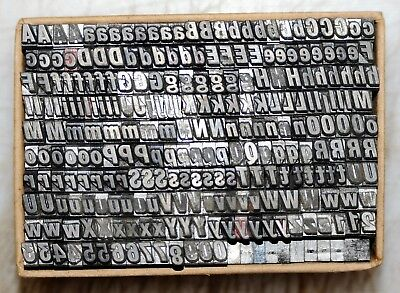 14pt HEADLINE Bold  #  Metal  Letterpress Type   #  Adana user  #