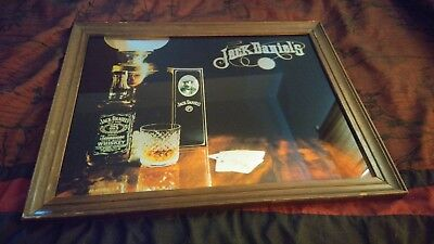 Extremely Rare, Vintage Jack Daniels Mirror