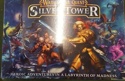 Warhammer Quest Silver Tower Board Game