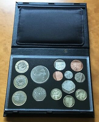 Royal mint 2011 proof UK 14 coin set