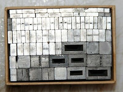 24pt Spacers   Metal  Letterpress Type   #  Adana user  #