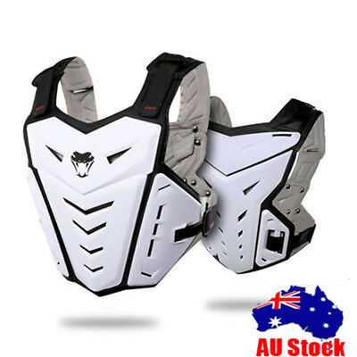Motocross Sport Vest Chest Back Protector Street Motorcycle Body Guard Armor AU