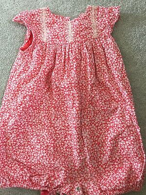 Mark And Spencer Stunning Girls Romper Suit 18-24 Months