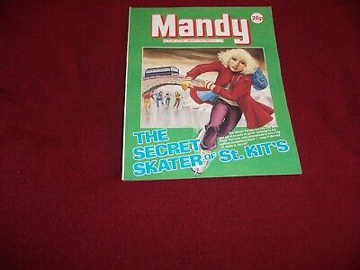 VERY RARE MANDY  PICTURE STORY LIBRARY BOOK  from the 1980's: never been read!