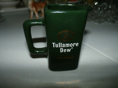 Vintage Tullamore Dew Ireland Irish Whiskey Decanter CREAMER PITCHER