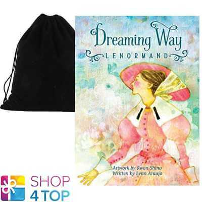 Dreaming Way Lenormand Oracle Deck Lynn Araujo Esoteric Astrology Velvet Bag