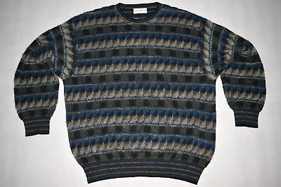 Bugli Pullover Sweatshirt Sweater Strick Pullover Knit Mohair Vintage 52 L-XL