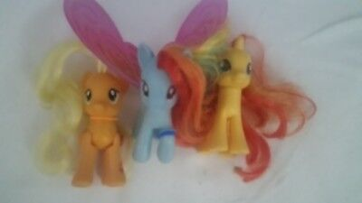 super süsse my little pony figuren 3 er Set