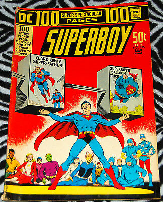 Superboy 185 May 1972 from DC Comics