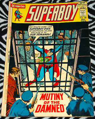 Superboy 186 May 1972 from DC Comics