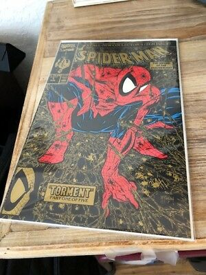 Marvel - Spider-man 1 Gold 2nd Print - NM/VF Todd McFarlane Torment 1990