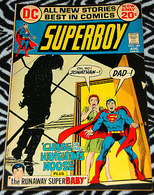 Superboy 189 August 1972 from DC Comics
