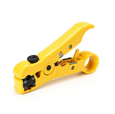Rotary Coax Coaxial Cable Knife Cutter Wire Stripper Stripping Tool RG/59/7/11/6