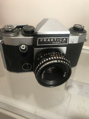 praktica camera super tl vintage rare film