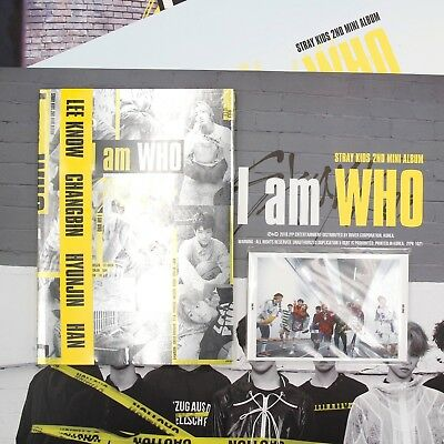 [STRAY KIDS] 2nd Mini Album/I Am WHO/ 'I Am' Ver.(New Sealed)+Preorder Gifts