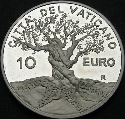 VATICAN 10 Euro 2004 Proof - Silver - World Day of Peace - 646 ¤