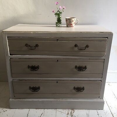 Painted Edwardian Chest Of Drawers