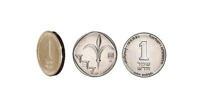 Israel 1 New Shekel Coin Money Sheqel Middle East Bead