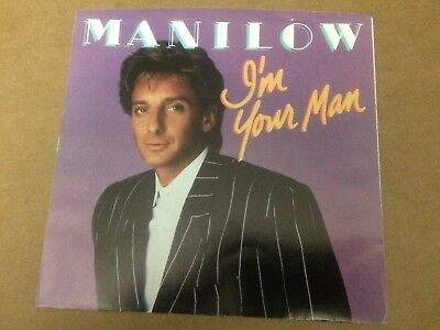 """Barry Manilow I'm Your Man  Pic Sleeve Only No Record  7""""  C3"""