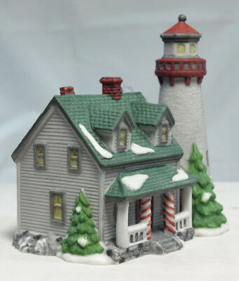 "Dept 56 New England Village ""craggy Cove Lighthouse"" Ornament W/box"