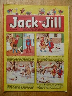 Collectible Vintage Jack and Jill Comic  - 18th January 1969