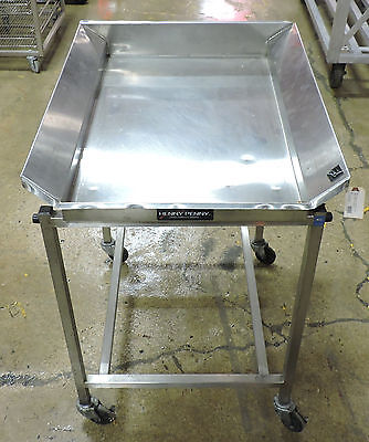Henny Penny DT221 Fryer Dump/Bread Table