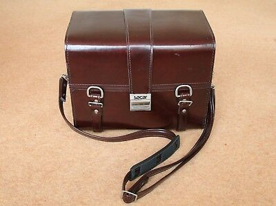 Vintage Leather Camera Case by Sacar