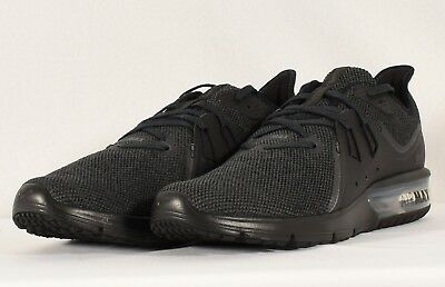f6bfde1a95e Nike Men s Air Max Sequent 3 Running Shoe Black  Anthracite (921694 010)