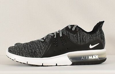 new arrival 736fd 07a0c Nike Men s Air Max Sequent 3 Running Shoe Black  White-Dark grey (921694