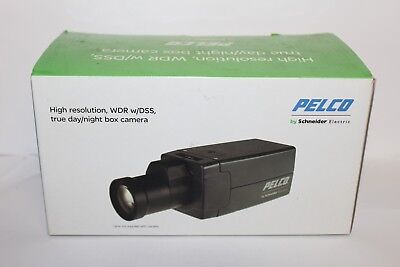 Pelco Security Box Camera C20-Dw-6 Wdr Hi Res 1/3Inch 12/24V Ntsc No Lens