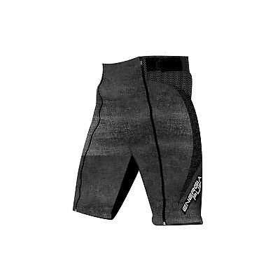 Shorts Racing Junior Energiapura With Protections Jeans Anthracite