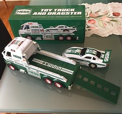 Hess Collectible Toy Truck and Dragster 2017 NEW w/box & packaging