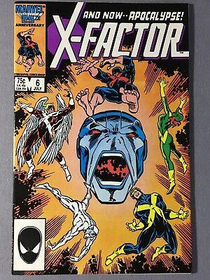 X-Factor 6 1st Full Appearance of Apocalypse VF Condition