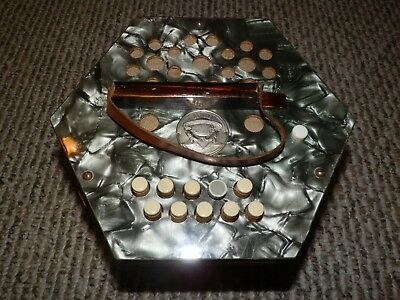 Vintage Scholer Diatonic Button Concertina