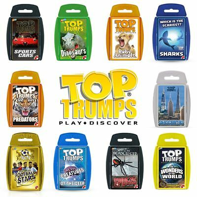 Top Trumps Classics Card Game - New for 2018 - Choose Your All-Time Favourites!