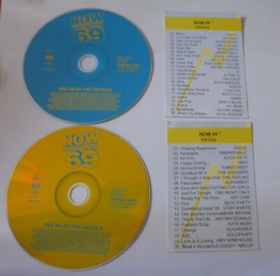 Cd Album - Now That's What I Call Music 69 - Two Disc Set (Cd308)