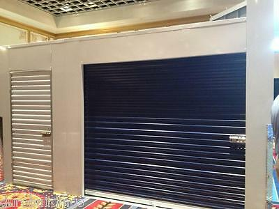 DuroSTEEL JANUS 12' W x 16'T Commercial 3100 Series Windlock Roll-up Door DiRECT