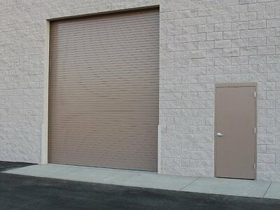 DuroSTEEL JANUS 8' Wide by 12' Tall 2000 Series Commercial Roll-up Door DiRECT