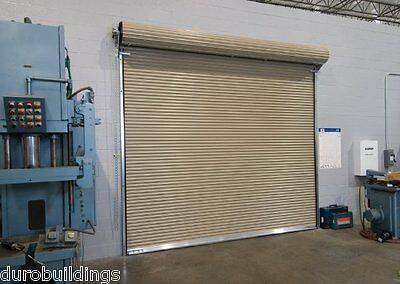 DuroSTEEL JANUS 10'W x 18'T Commercial 3100 Series Windlock Roll-up Door DiRECT